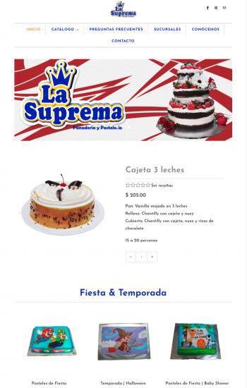 Pastelería La Suprema